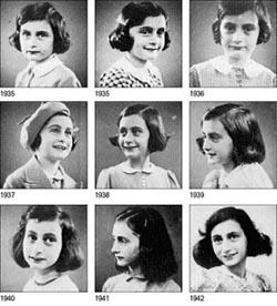 Anna Frank, emblema della Shoah