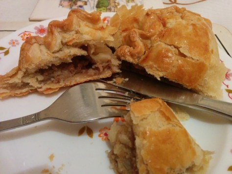Cornish styled Pasty