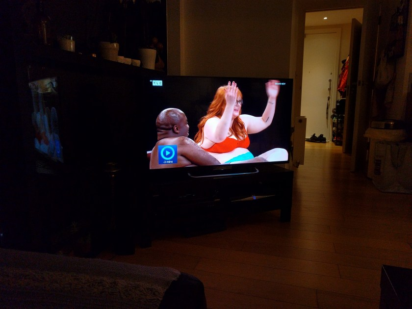 Watching undressed s1ep9 with friends