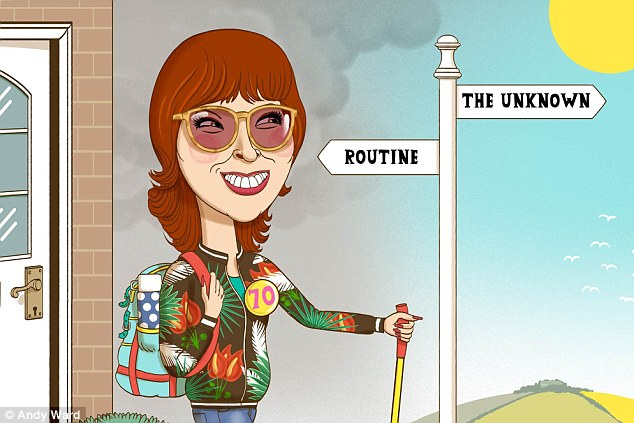 It's routine, not time, that makes you old says Janet Street-Porter