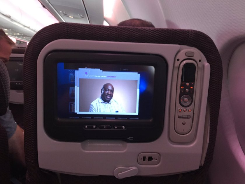 At 36,000 feet you can't escape me?