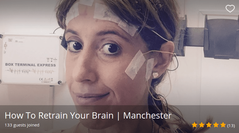 How To Retrain Your Brain Funzing talk in Manchester