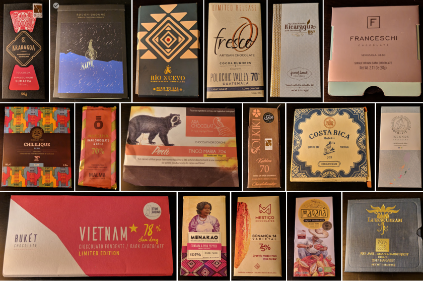 My best chocolates of 2018 from Cocoarunners