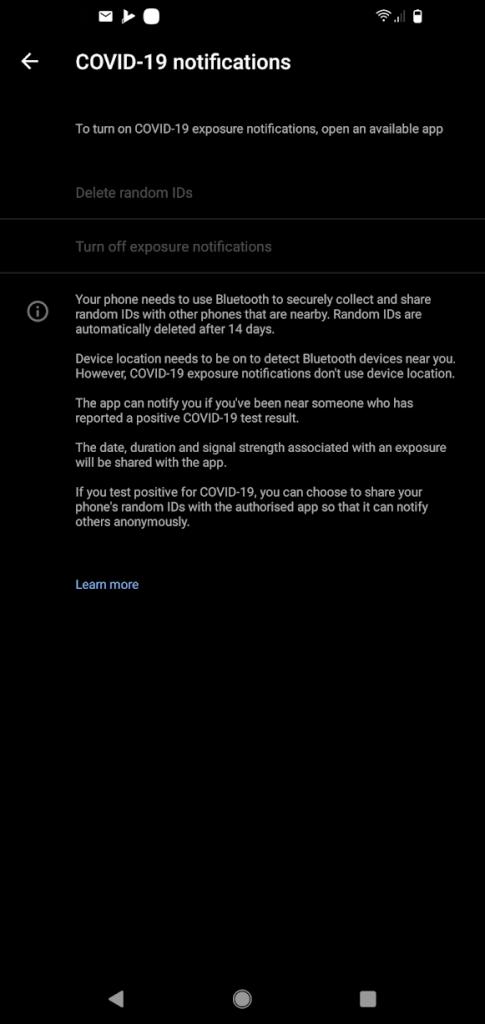 Android Covi19 API