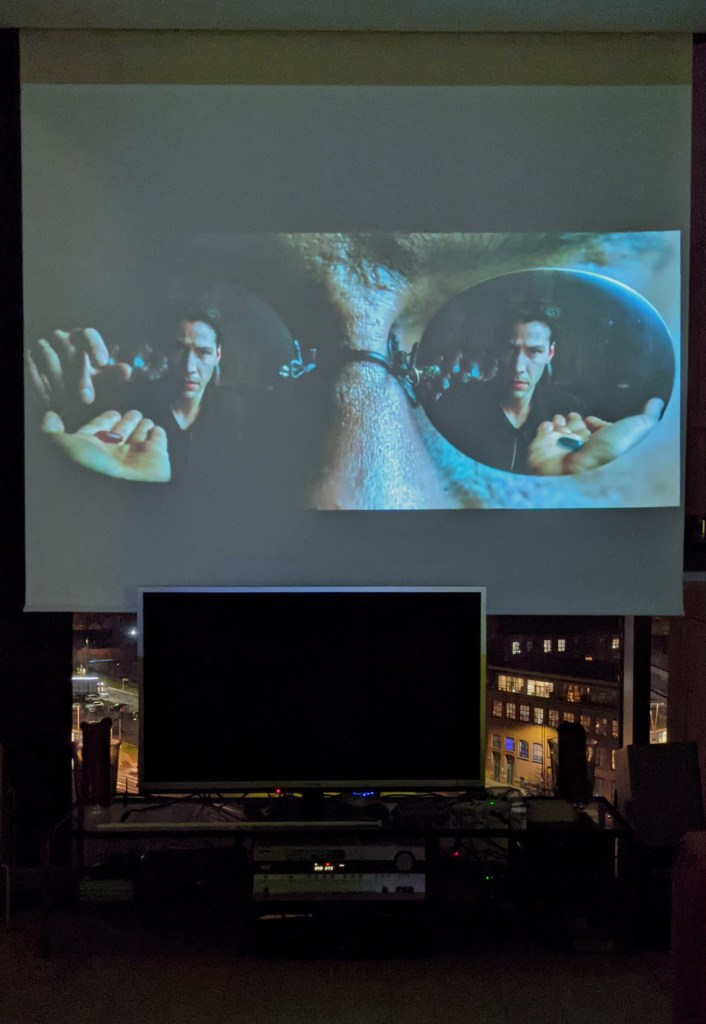 Matrix on the big screen