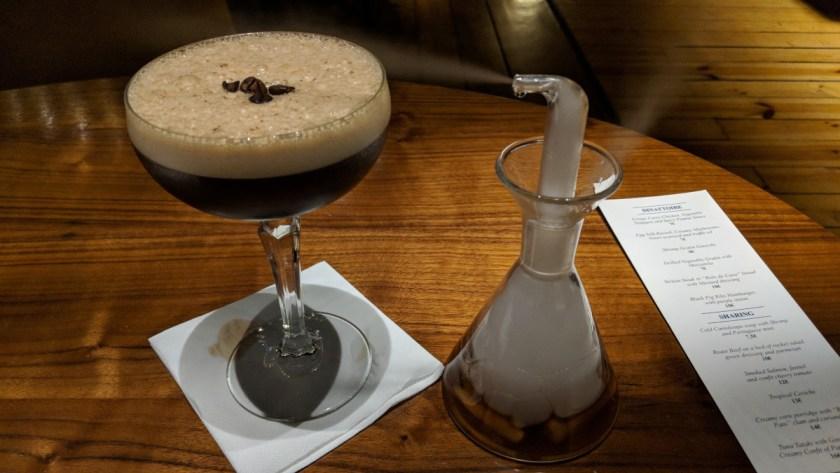 espresso martini with style
