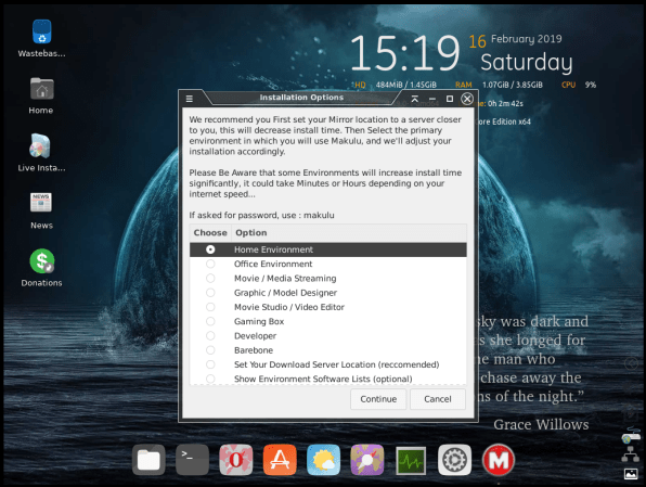 MakuluLinux-05-Install Type