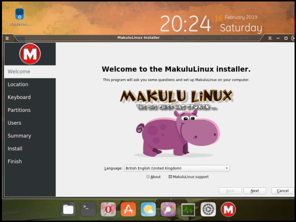 MakuluLinux-07-Installer Welcome