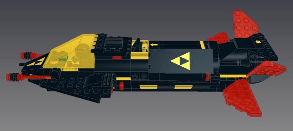 Invader Refit Side Upper