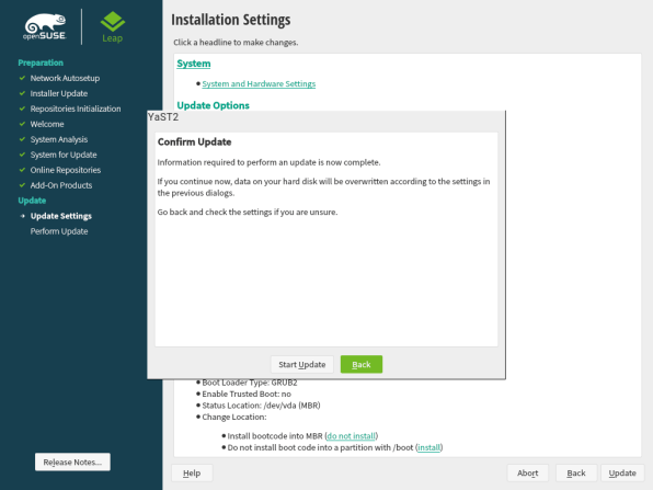 openSUSE Leap 15.1 Upgrade 10
