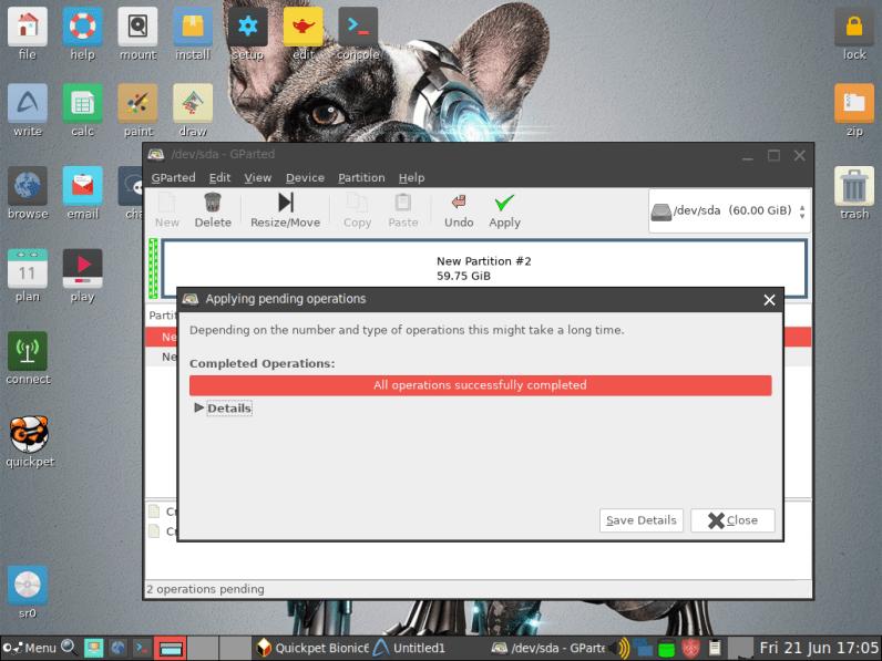 PuppyLinux VM 16