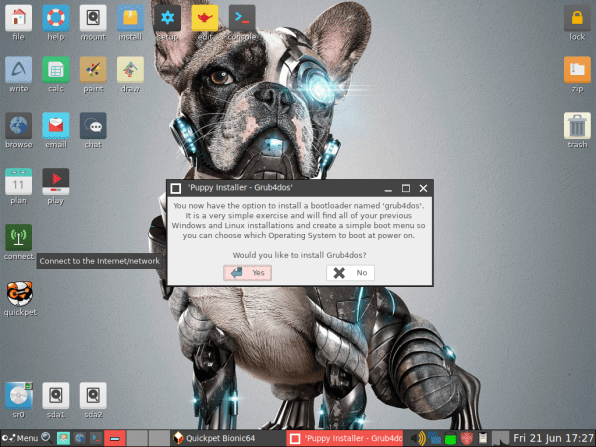 PuppyLinux VM 26