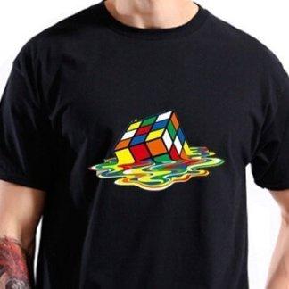 camiseta cubo de rubik