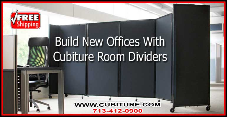 How To Share An Office With A Folding Room Screen Divider
