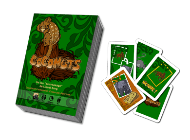 Caja y componentes de Coconuts