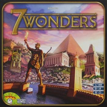 Portada de 7 Wonders