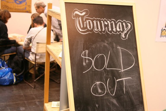 Tournay, todo vendido