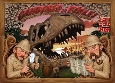 Portada de Cazadores de Fósiles