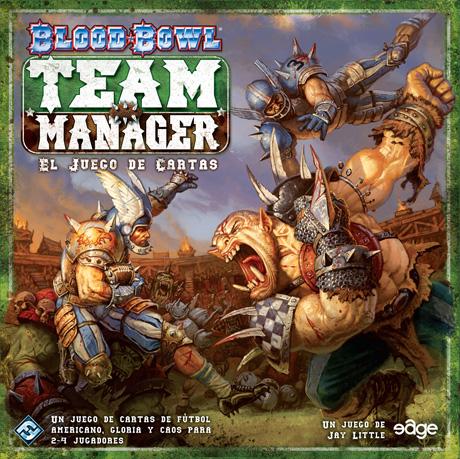 Portada de Blood Bowl Team Manager