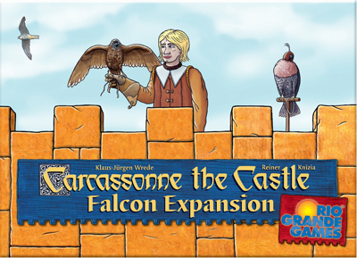 Portada de Carcassonne The Castle Falcon Expansion