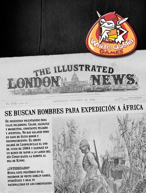 Se buscan hombres para expedición a África