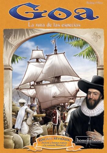Portada de la edición en castellano de Goa