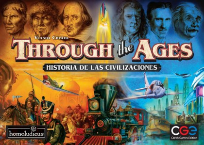 Portada de la edición española de Through the Ages