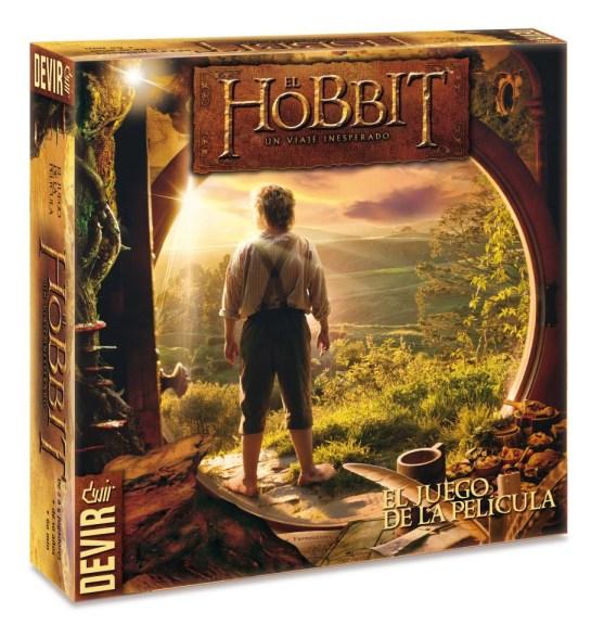 Caja de El Hobbit: El juego de la película