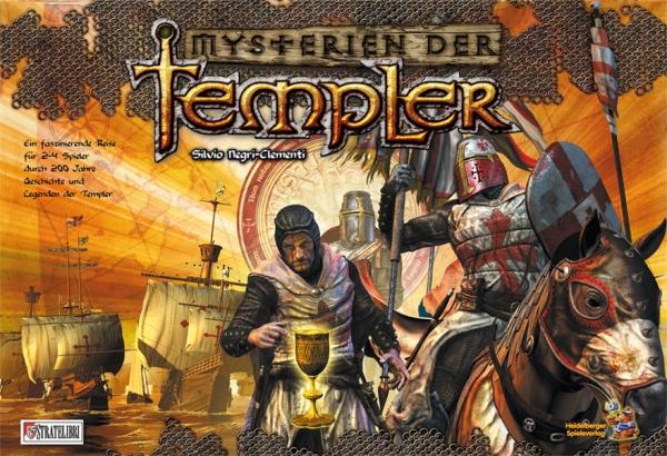 Portada de Mysterien der Templer