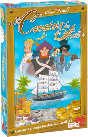 Caja de Comptoir des Antilles