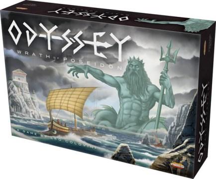 Caja de Odyssey - Wrath of Poseidon