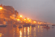 Varanasi River, India, by Cindy Kraft
