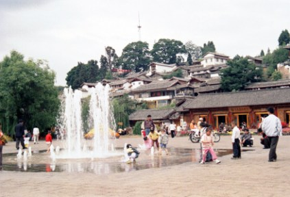 china-lijiang-by-lindsey-weaver-playing-in-the-main-square