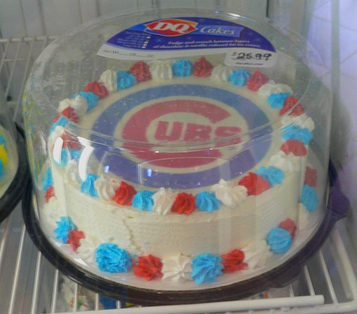 Chicago Cubs Birthday Cake Jpg 1 Comment
