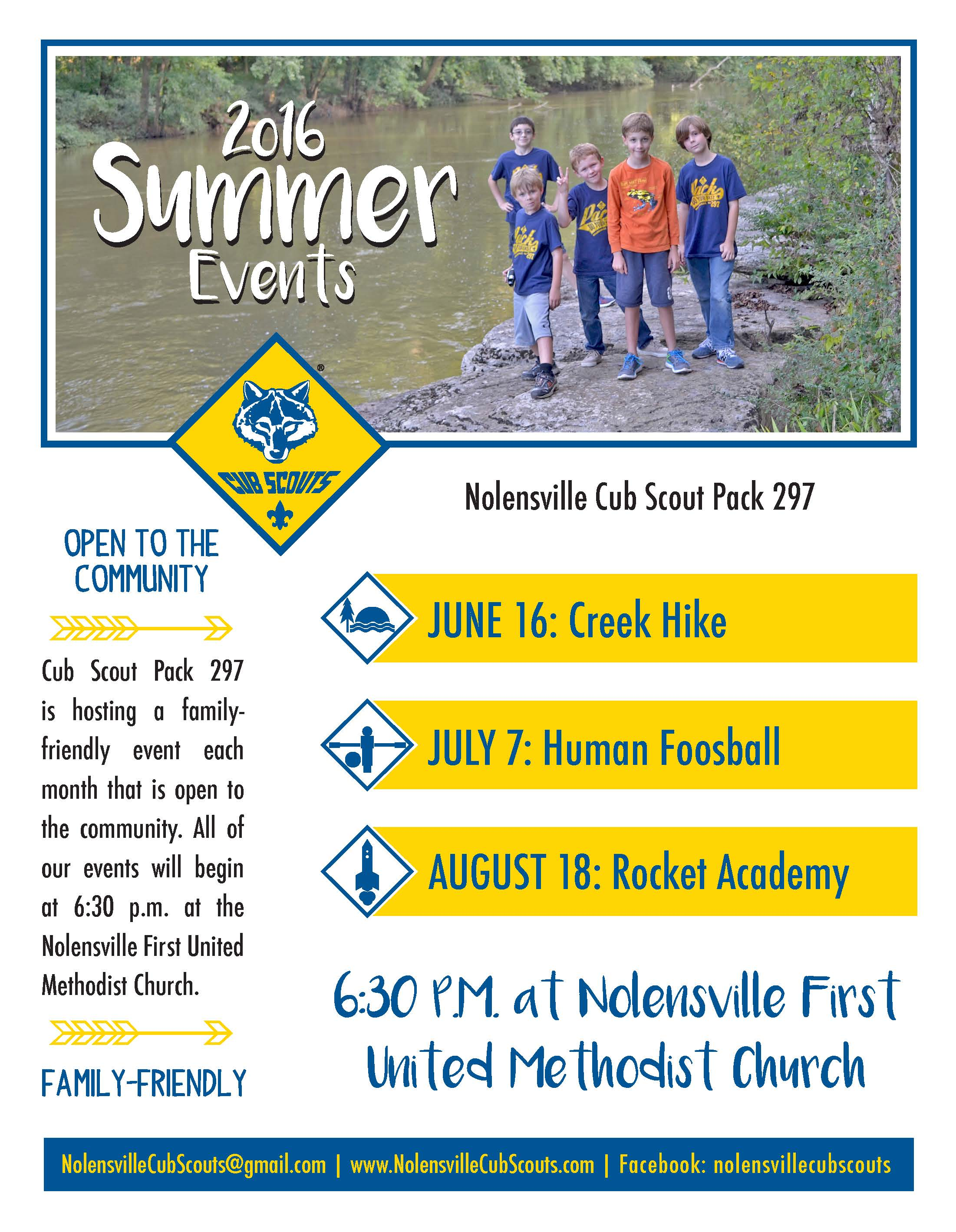 Use Pack S Summer Events For More Than Fun Cub Scout Ideas
