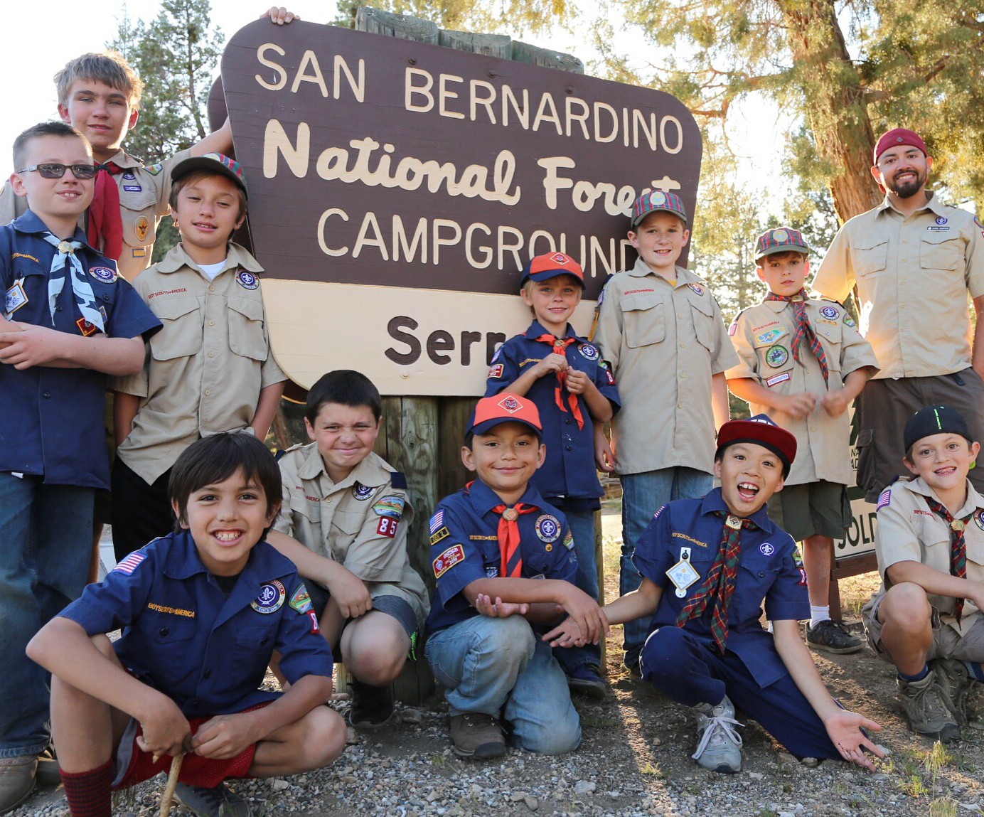 Camping Cub Scouts Pack 850