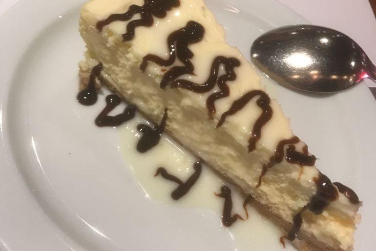 Tony Roma's Cheesecake!