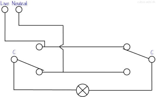 two way switching wiring diagram wiring diagram 2 way lighting wiring diagram and schematic design