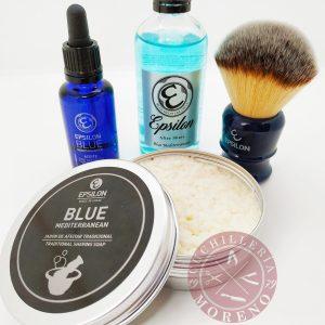 Conjunto de Afeitado Clásico Blue Mediterranean Básico