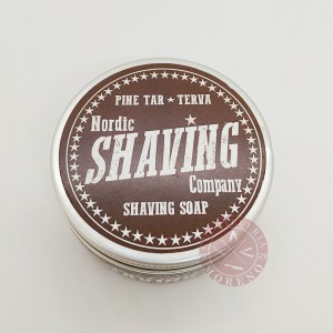Jabón de Afeitar Terva Nordic Shaving Company 80gr