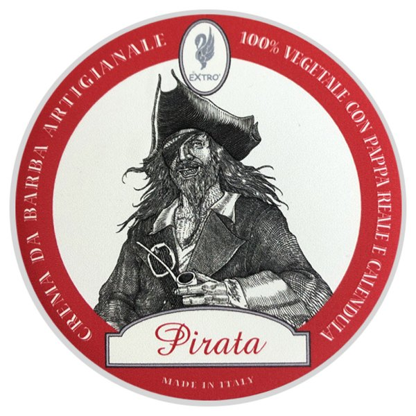 crema de afeitar pirata extro