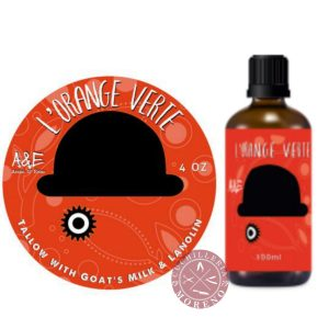 jabon afeitar after shave orange verte a&e