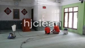Cuci Sajadah Masjid Taman Yasmin Bogor