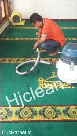 Cuci Karpet Masjid At Taqwa Paku Jaya Tanggerang