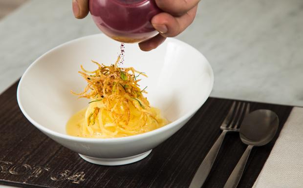 Risultati immagini per immagine spaghetto di patate burro e alici