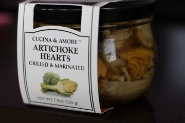 jar of Cucina & Amore Artichoke Hearts Grilled & Marinated