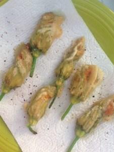 Fried Squash Blossom