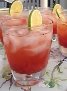 Strawberry Rickey