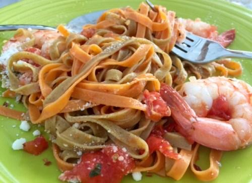 Shrimp in Pasta