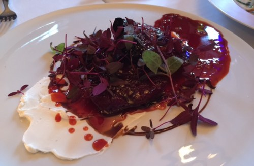 Bloody Beet Steak